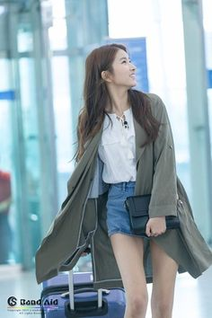 Gfriend Sowon Airport Fashion