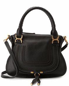 ChloÉ Marcie Medium Suede Shoulder Bag In Carloe Lrowe Leather Satchel, Calf Leather, Leather Purses, Leather Shoulder Bag, Leather Handbags, Green Leather, Shoulder Bags, Shoulder Handbags, Shoulder Strap