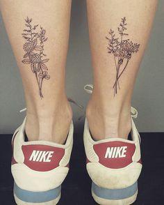 Wild Flowers Tattoo