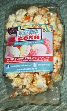 Foodstuff Finds: Retrocorn - Rhubarb and Custard Popcorn (@GregRetrocorn) [By @Cinabar]