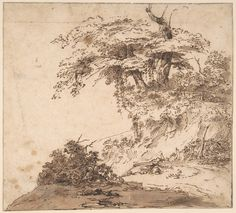 Attributed to Anthony van Dyck | A Group a Trees | The Met