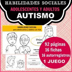 """Este cuaderno es el primero de la colección """"EducaTEA"""" para adolescentes, jóvenes y adultos con Síndrome de Asperger (TEA). Se basa en una historia social, profundamente desarrollada. Con ella vamos a ayudar a chicos y chicas a adquirir una habilidad social; dejarse guiar, prestarse a aprender y no cerrarse ante la ayuda que se les facilita."""