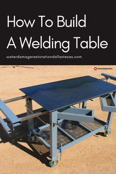 Plasma Arc Welding, Laser Welding, Welding Rods, Welding Table Diy, Welding Cart, Welding For Beginners, Metal Fabrication Tools, Types Of Welding, Homemade Tables