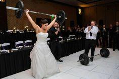 What a wedding pic!!! Lift bride lift!!!