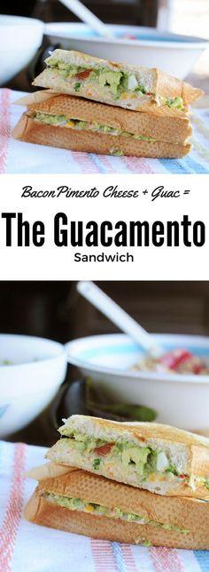 Bacon Pimento Cheese   Guacamole = Guacamento