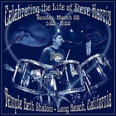 Celebrating the life of Steve Hartis Temple Beth Shalom Long Beach CA  Featuring Cubensis playing the music of the Grateful Dead.  Today at 1pm in Long Beach CA  Livestreaming courtesy of the Grunzy Channel http://ift.tt/2n5H7eN
