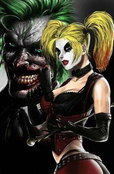 The Joker and Harley Quinn❤️