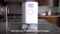 Hero Medication Manager and Pill Dispenser Simple App, Medical Prescription, Medicine, Management, Hero, Room Ideas, Heroes, Medical, Recipe