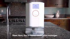 Hero Medication Manager and Pill Dispenser Simple App, Medical Prescription, Medicine, Management, Hero, Room Ideas, Medical Technology, Medical, Recipe