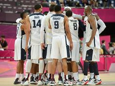 Olympic Men's Basketball 12-Nation Field Completed