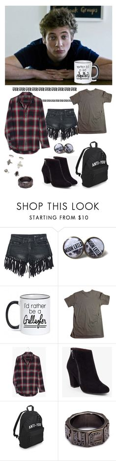 """""""shameless"""" by nieboskakara ❤ liked on Polyvore featuring Sans Souci, American Apparel, Madewell, BCBGeneration, Lynn Ban and Miss Selfridge"""