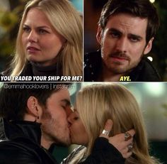 Captain Swan - Emma Swan - Captain Hook -  Killian Jones - Once Upon a Time