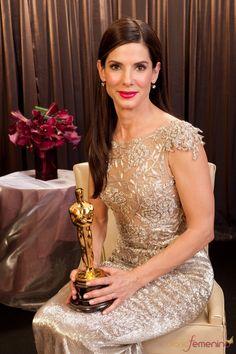 """Sandra Bullock - Mejor Actriz por """"Un sueño posible (The Blind Side)"""""""