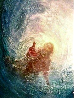 The Savior reaches to rescue every soul.