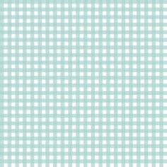 Mini Picnic Aqua/White fabric by juliesfabrics on Spoonflower - custom fabric