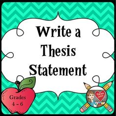 Teach students how to write a thesis statement English Teaching Resources, Teacher Resources, All About Me Essay, Writing A Thesis Statement, Turn And Talk, Teacher Lesson Plans, Myself Essay, Good Essay, Teacher Favorite Things