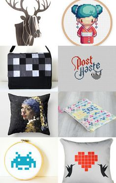 pixel ♥  by Gillian on Etsy--Pinned with TreasuryPin.com