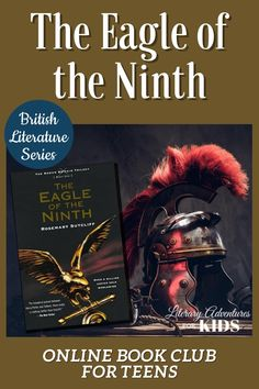 In this course, we will read The Eagle of the Ninth by Rosemary Sutcliff. As we're reading, we will go on rabbit trails of discovery into history, Roman life, math, nature, and more. We'll find ways to learn by experiencing parts of the book through hands-on activities. This online literary guide has everything you need to study the book. It includes vocabulary, grammar, discussion questions, rabbit trails, and a writing project. It is perfect for a month of high school level literature. Online Book Club, Online Books For Kids, Books Online, British Literature, Classic Literature, Children's Literature, High School Subjects, School Levels, Homeschool High School