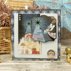 Christmas Themes, Christmas Cards, Hunkydory Crafts, True Meaning Of Christmas, Ready To Pop, Card Making Inspiration, Peace And Love, Card Stock, Paper Crafts