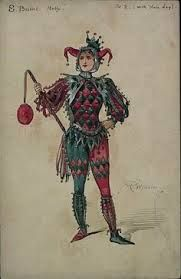 Harley Quinn Is Even More Fun Dressed As A Real Medieval Court Jester Jester Costume, Jester Hat, Court Jester, Pierrot, Clowns, Medieval Jester, Medieval Party, Harlequin Costume, Joker Playing Card