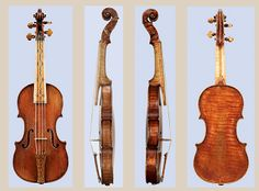 Violino Piccolo in its Original Set Up by Girolamo Amati, Cremona, 1613 at the National Music Museum in Vermillion, South Dakota