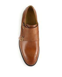 168abc4344a01d Cole Haan | Brown Cambridge Double Monk-strap Shoes for Men | Lyst Double  Monk