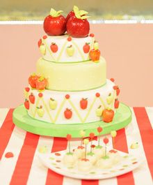 Great apple cake...perfect for an Apple Party!