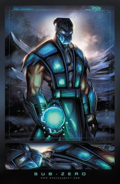 Mortal Kombat - Sub-Zero by Rob Duenas