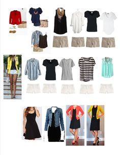Wardrobe Capsule Outfits