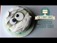 Halloween Mummy cake How To Cake Tutorial - YouTube