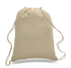Pack) Set of 6 Durable Cotton Drawstring Tote Bags (Natural) Pack of 6 bags Durable Cotton Drawstring Tote Bags Cotton Sheeting. Cotton Weight: Drawstring x Standard size Perfect for screen print, embroidery or Iron-on Transfer. Imprint Area : x Cotton Drawstring Bags, Cotton Bag, Drawstring Backpack, Cotton Fabric, Cotton Canvas, Fabric Tote Bags, Canvas Tote Bags, Wholesale Tote Bags, Cheap Tote Bags