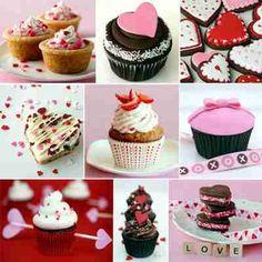 Creatieve kookworkshop - Deze avond gaan we tijdens de workshop speciaal voor Valentijn leuke cupcakes (3 verschillende) maken. Deze cupcakes worden gemaakt in een basis van steekschuim met rode rozen, groen etc. en afgewerkt met leuke hartjes en pareltjes etcetera. - creatieve workshops Gouda.