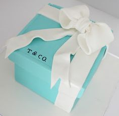 Simply Cakes: Regalito de Tiffany & Co. Wedding cake