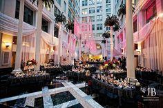 Atrium at the Curtis Center- Wedding of Renee & Daniel - Jordan Brian Photography by jordan-brian-photography, via Flickr