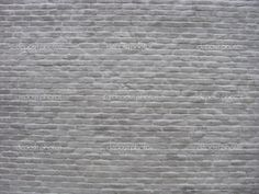 painted brick wall - multiple grays on one wall