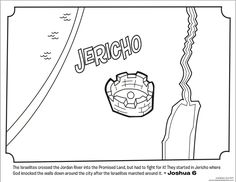 Jericho destroyed by God - pp. 4-7 Usborne World History