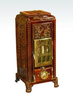 Art Nouveau, small slow combustion stove by jimmie