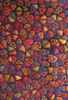 Love this beautiful quilt. I don't know what the pattern is, but I call it pebbles.