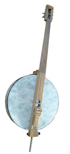 [ƒrettedchordophone 2014] Heftone Bass Banjo --- https://www.pinterest.com/lardyfatboy/