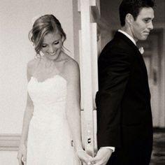 Adorable. Wedding photo idea.