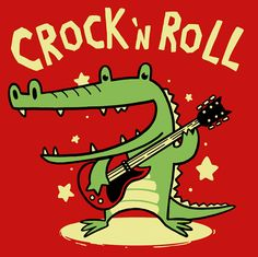 Camiseta Crock,n Roll
