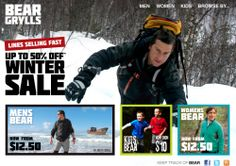 Go Directly to Bear Grylls Official Clothing Site   NEW! Bear Grylls Gerber Knife     Bear Grylls is one of the most extreme mainstream outdoor survivalists...