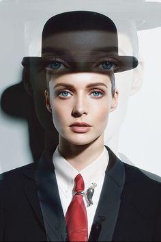 Jeff Koons Muses on Surrealist René Magritte