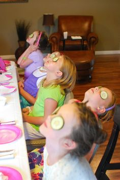 Spa Birthday Party For Little Girls. It's Never To Early To Start Pampering Yourself!