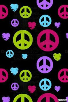 Peace And Love Iphone Wallpaper : 1000+ images about wallpapers on Pinterest Girly, iPhone wallpapers and Peace sign art
