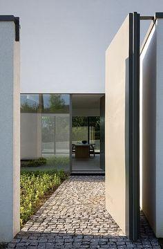 El elegante minimalismo del arquitecto belga Bruno Erpicum   Interiores Minimalistas