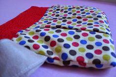 Un bolso de mano de tela DIY