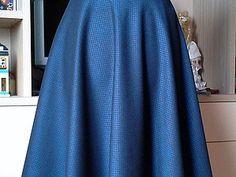 Шьем юбку-полусолнце | Ярмарка Мастеров - ручная работа, handmade