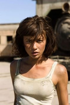"Olga Kurylenko as Camille Montes in the James Bond movie ""Quantum of Solace"" (2008)"