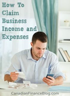 How To Claim Business Income and Business Expenses